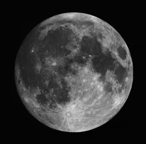 This full Moon image was captured and made by William Chin, based in Kuala Lumpur, Malaysia. Copied from www.astronomycameras.com.
